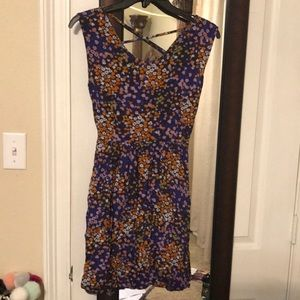 Floral dress size Large